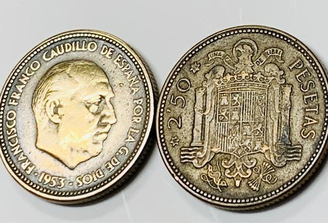 Pesetas Antiguas