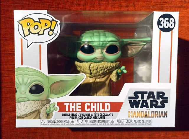 Figura Funko Pop The Child Nº368 (Nueva)