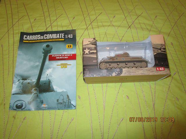 Tanque Altaya Escala 1/43 Nº13 Pz.Kpfw.