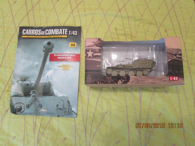Tanque Altaya Escal 1/43 Nº14 Flakpanzer