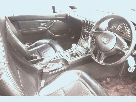 Juego De Asientos Cuero Bmw Z3 Cabrio 1.