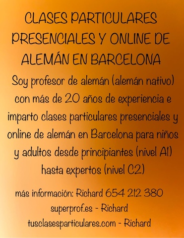 TRABAJAR EN ALEMANIA? CLASES DE ALEMÁN - foto 1
