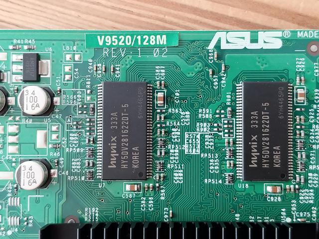 ASUS GEFORCE FX5200 AGP V9520 128MB - foto 4