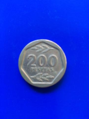 Moneda 200 Ptas Año 1987