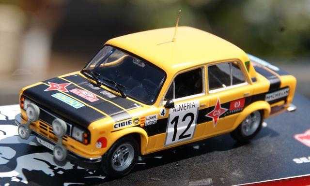 Seat 124 D S 1800 Rallye De Montecarlo 1