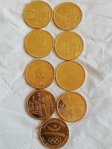Monedas Conmemorativas Juegos Olimpicos