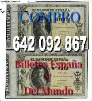 Buscamos Billetes Antiguos Tasamos Al In