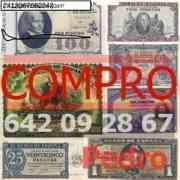 Tasamos Billetes De Las Antiguos Pesetas