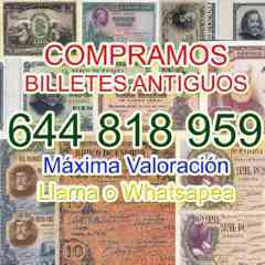 Adquirimos Billetes Extranjeros Y Españo