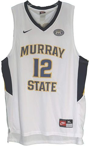 CAMISETA BALONCESTO NCAA MURRAY BLANCA - foto 1