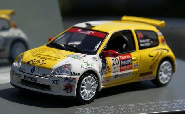 Renault Clio Super 1600 Rallye Mont-Blan