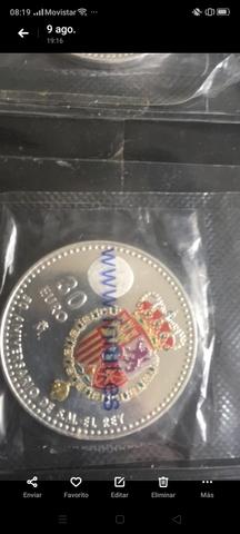 Monedas De Plata 30  Y 20