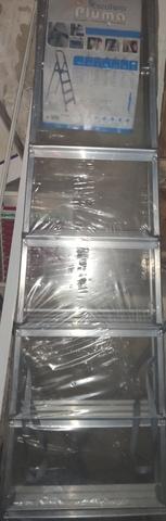 Escalera Aluminio De 7 Peldaños