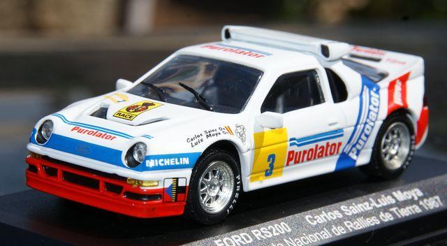 Ford Rs200 Campeonato Nacional De Rallie