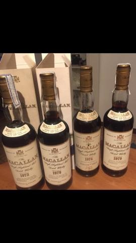 Vendo 6 Botellas De Whisky Antiguo