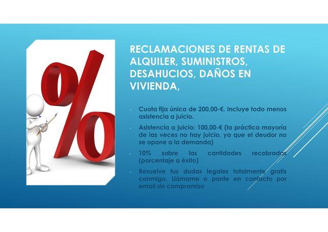 ABOGADOS - RENTAS ALQUILER Y DESAHUCIOS - foto 2