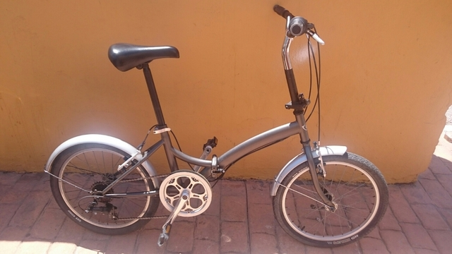 Bicicleta Plegable Adulto