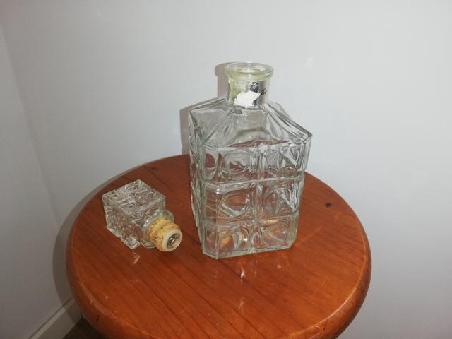 Botella De Cristal Para Licor