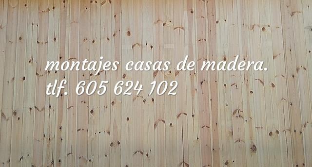 MONTADOR DE CASAS DE MADERA - foto 1