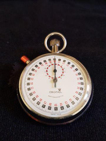 Cronometro Suizo Cronel Mecánico