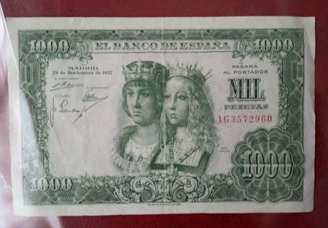 Billete 1000 Pesetas Reyes Catolicos1957