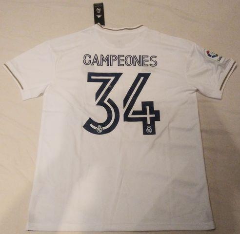 Camiseta Real Madrid Campeones Liga