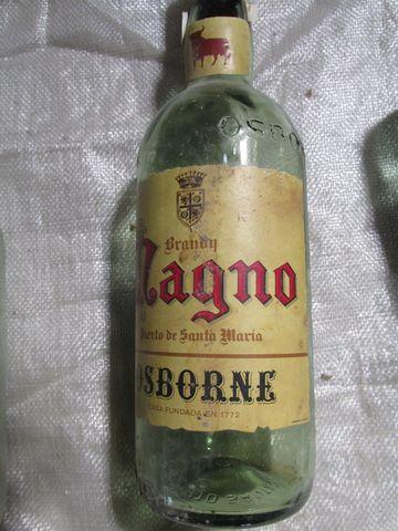 Botellas Vacias Brandy  Magno Osborne