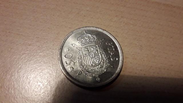 Se Vende Moneda 50 Pesetas 1975 Juan Car