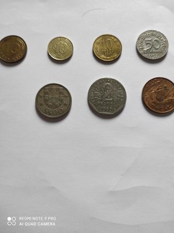 Lote 7 Monedas Mundiales