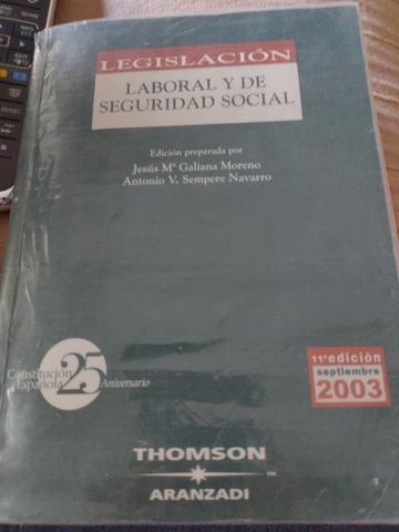 LEGISLACIÓN Y DE SEGURIDAD SOCIAL 2003 - foto 1