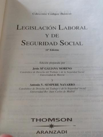 LEGISLACIÓN Y DE SEGURIDAD SOCIAL 2003 - foto 2