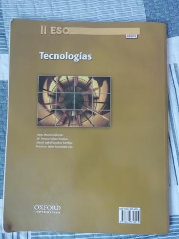 LIBRO TECNOLOGÍAS II ESO 2°ESO ADARVE - foto 2
