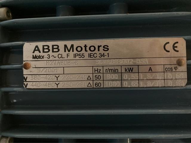 MOTORREDUCOTORES 0, 55KW, REDUCTOR NMRV075 - foto 2