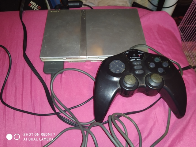PLAYSTATION 2 SLIM PLATA - foto 1