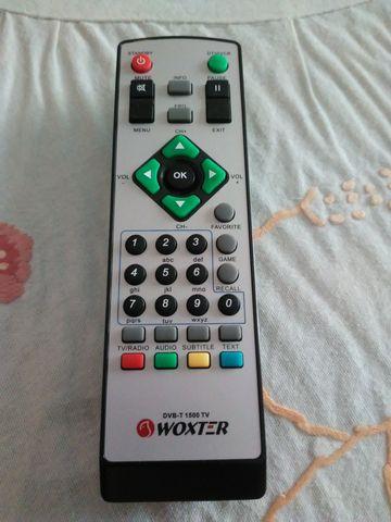 MANDO WOXTER DVB-T 1500 TV-HD - foto 1