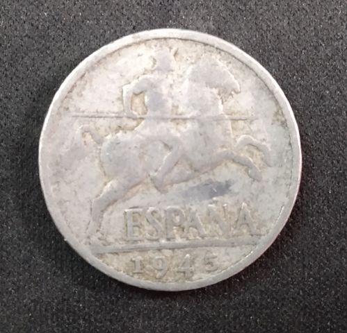 Moneda 10 Céntimos De Peseta 1945