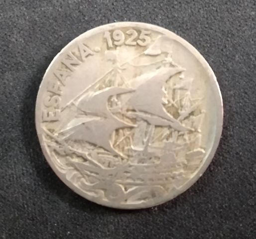 Moneda De 25 Céntimos De 1925