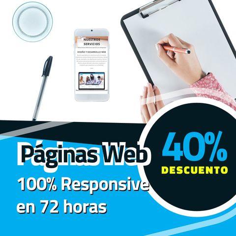 DISEÑO DE PAGINA WEB EN 72 HORAS - foto 1