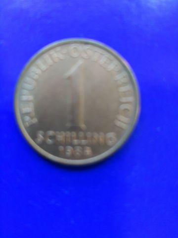 Moneda De  1 Schilling 1984