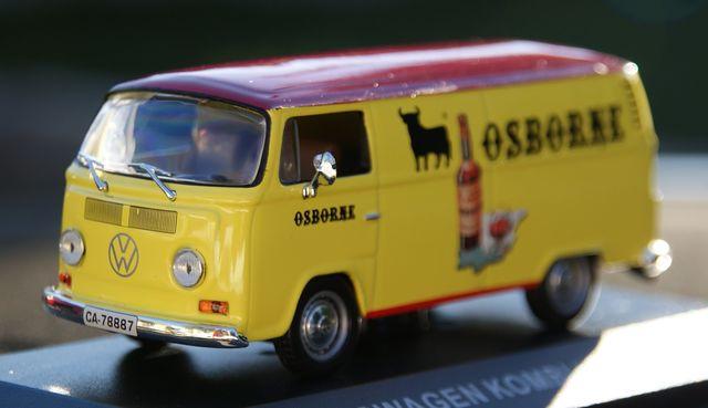 Volkswagen Kombi Osborne Escala 1:43 De