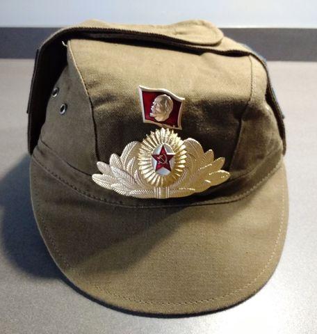 Gorra Militar Sovietica Con Insignias