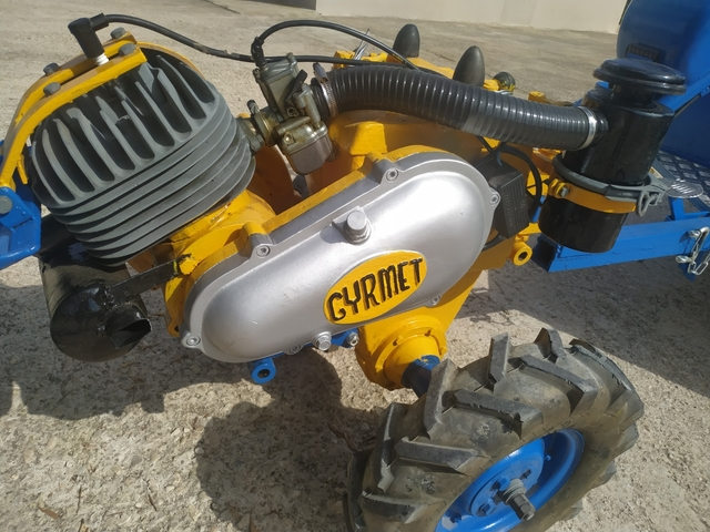 MOTOCULTOR MULA GYRMET BULTACO 250 - foto 6