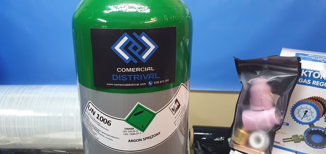 Gas Argon Envase Sin Alquiler