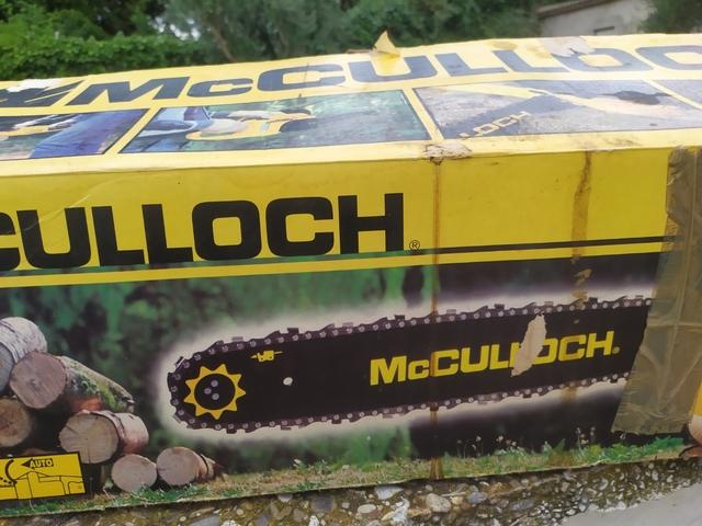 Motosierra Mcculloch 340 Gasolina