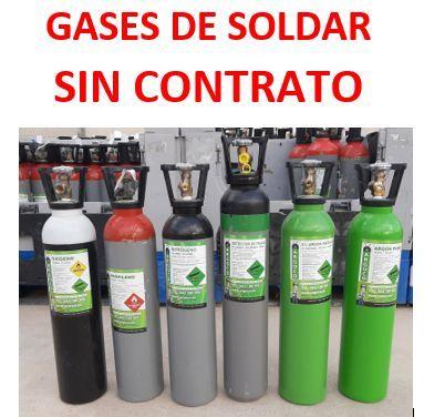 Gases De Soldar Sin Contrato