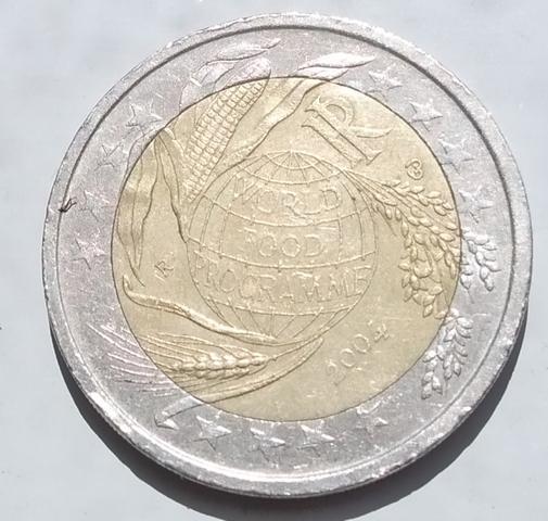 Moneda Conmemorativa 2 Euros Italia 2004