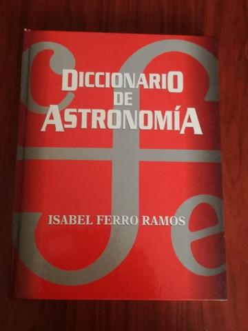 DICCIONARIO DE ASTRONOMÍA.  LIBRO NOVO.  - foto 1