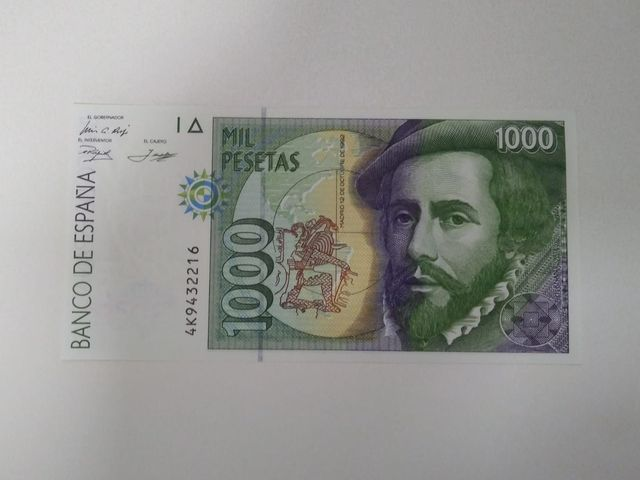 Billete 1000 Pesetas 1992 Sc