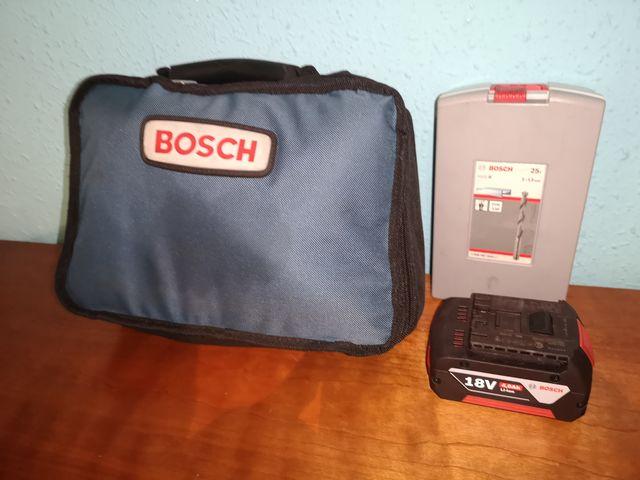 Taladro Casi Nuevo+Destornillador Bosch