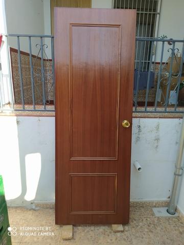Puertas Interior Caoba 203 X 72